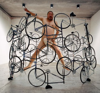 Aiand 'Bicycles for Ever', 2003+2011 photo Frockenberghe