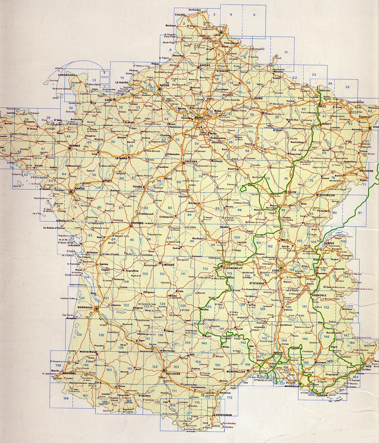 Michelin Map Of Germany.Michelin Maps France Recana Masana