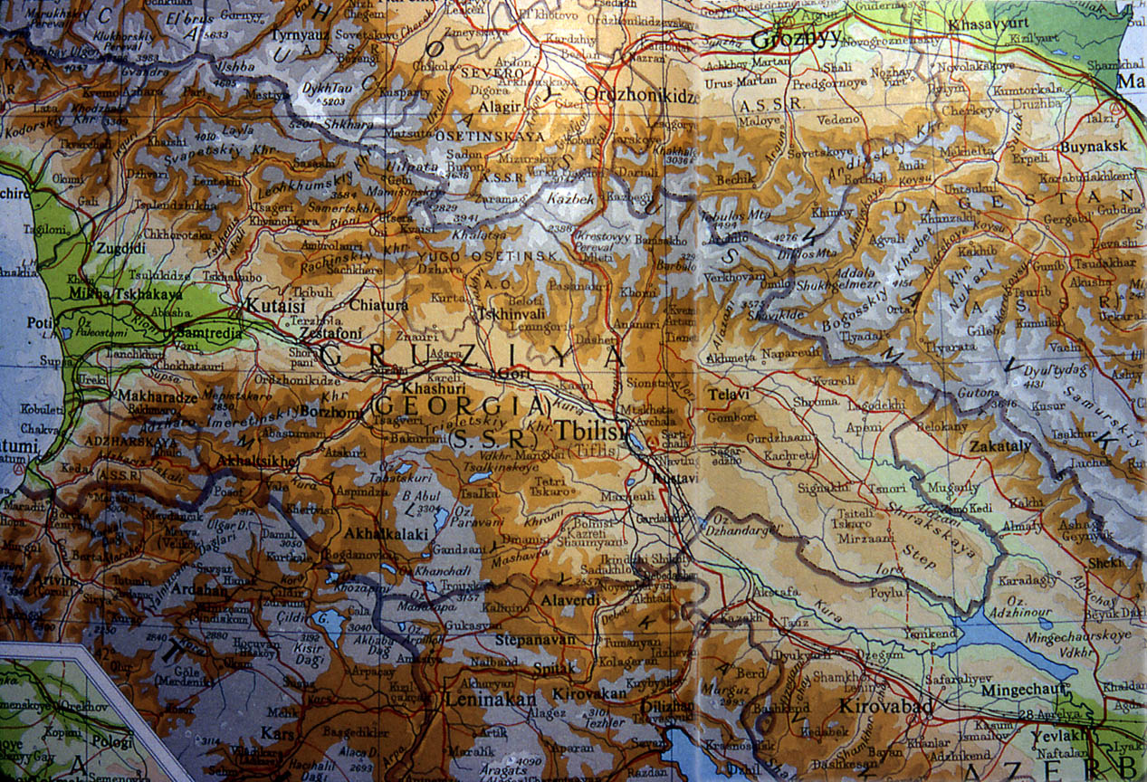 geography caucasus region Eurasian geography and economics, 2011, 52, no 5, pp  lent events in  russia's north caucasus region from august 1999 to july 2011,.