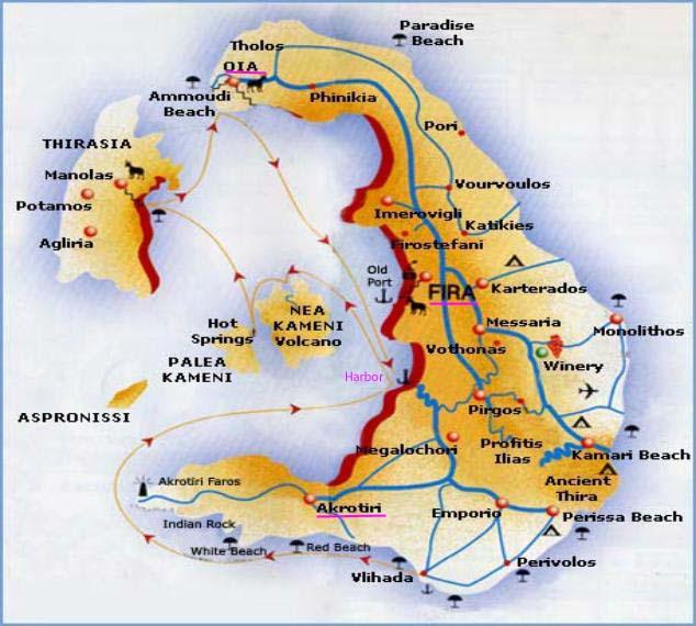 Santorini and Ios