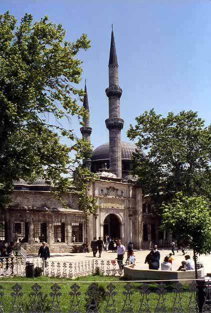 1990isteyubmosqueg the mosque was first built in 1458 by mehmet the conqueror on the site where ebu eyyb el ensari who was mohammeds standard bearer was killed under the altavistaventures Image collections