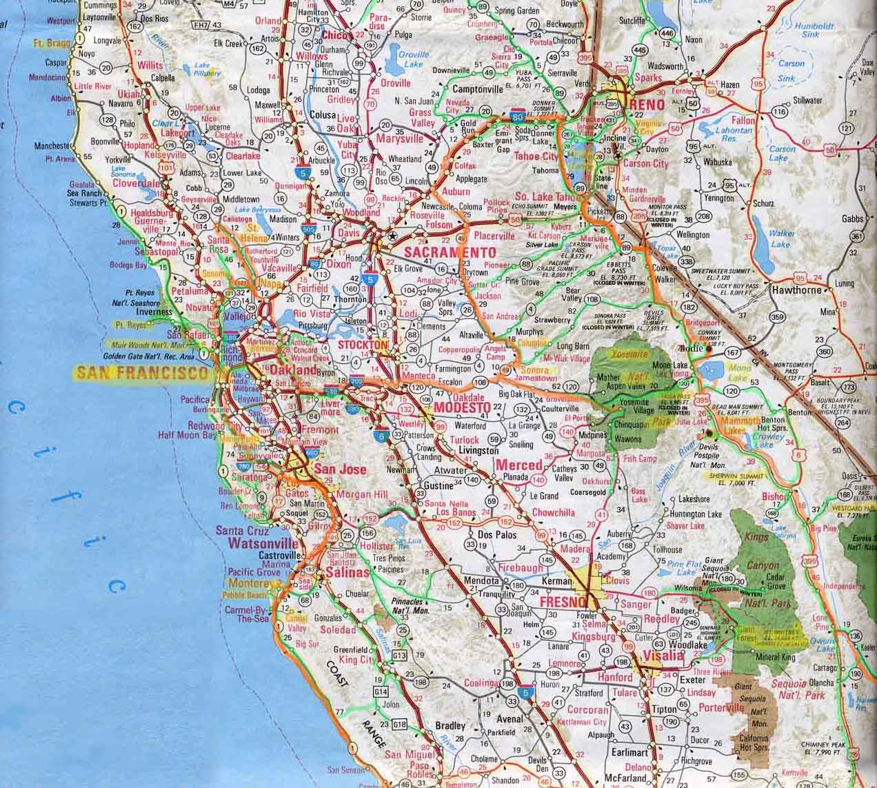 This is a photo of Printable Map of Southern California pertaining to pdf